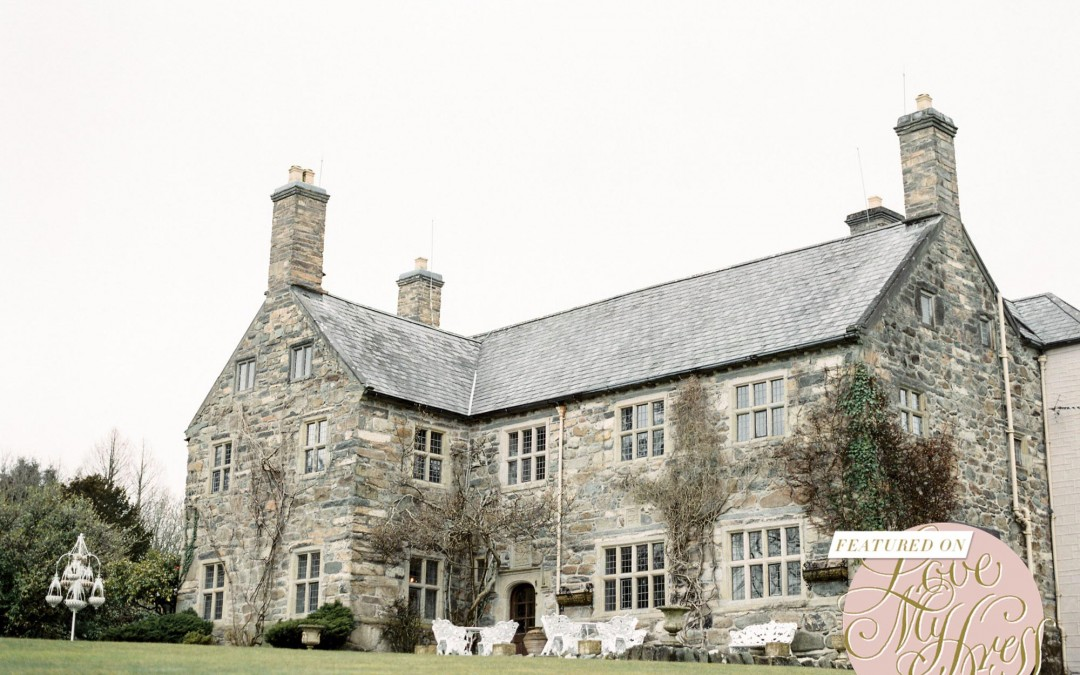 Talhenbont Hall Featured on Love My Dress