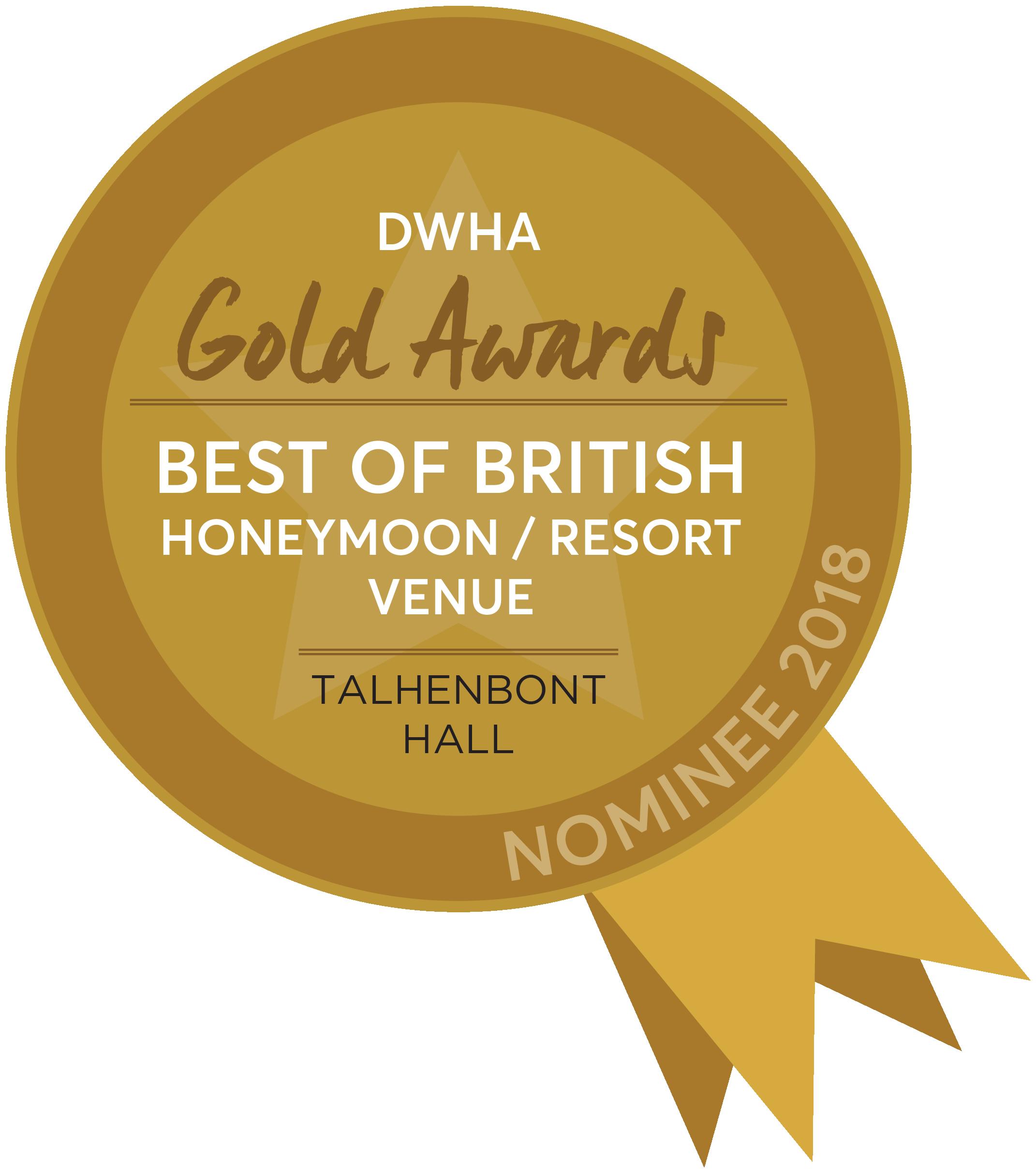 DWHA Gold Award 2018