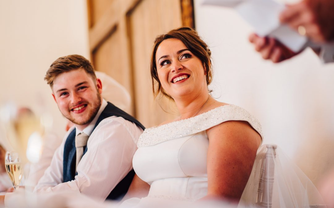 Tips on perfecting your wedding speech